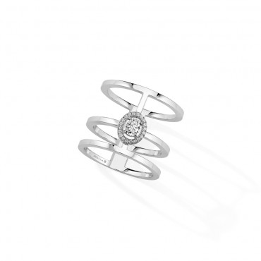 Messika, Glam'Azone 3 Rows Diamond Ring