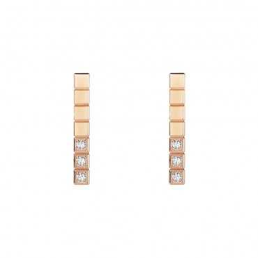 Chopard, Ice Cube Pure Earrings