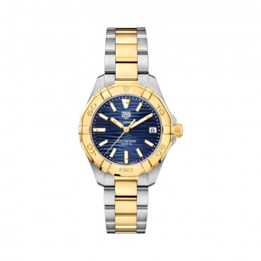 TAG Heuer, Aquaracer  Quartz Ladies Blue Steel...